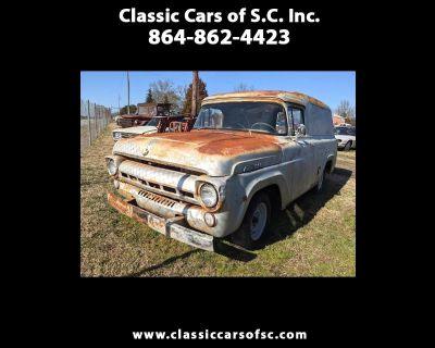 1957 Ford Panel Wagon