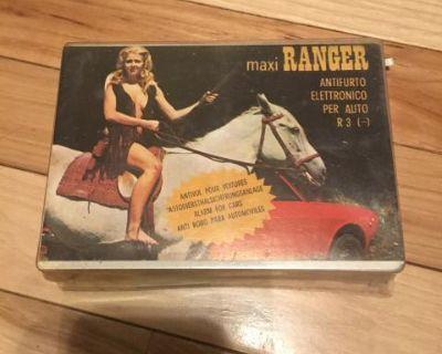 NOS Vintage Car Alarm