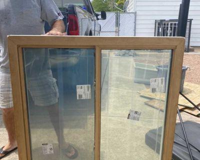 New vinyl replacement windows