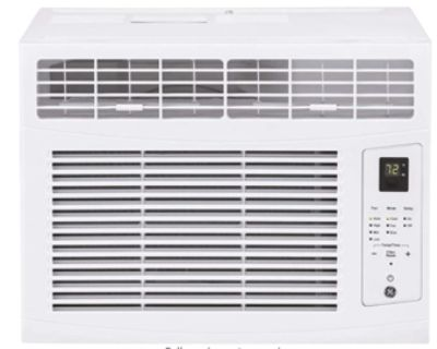Used Air Conditioner GE AHQ06LZ Window with 6000 BTU