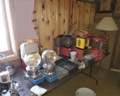 Century Farm Estate Sale, Including Antique Gumball Machine Collection!