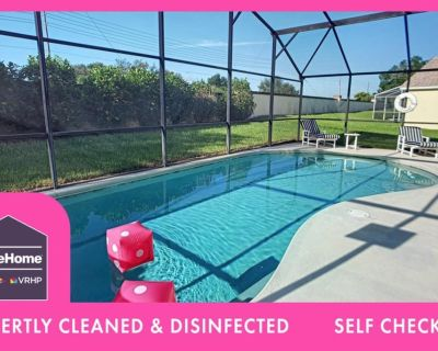 Private Pool Separate Office area for Working Vacations 4 miles to Disney - Four Corners