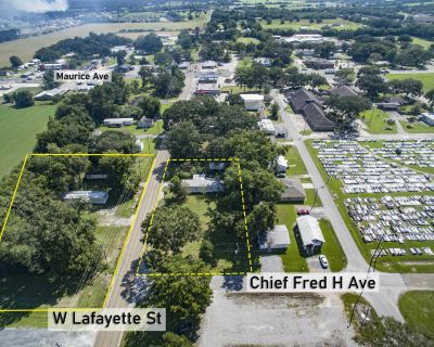 Small Mobile Home Park For Sale in Maurice, LA