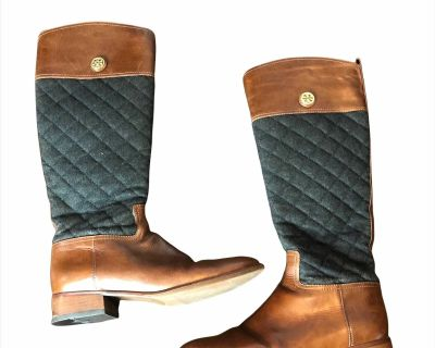 Size 10 Tory Burch Riding Boots