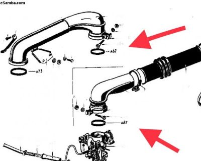 211129643 Air Cleaner Carburetor Gasket Seal
