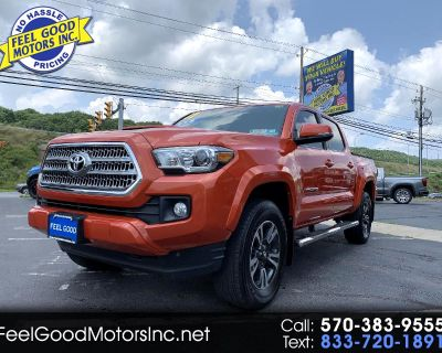 Used 2017 Toyota Tacoma SR5 Double Cab Long Bed V6 6AT 4WD