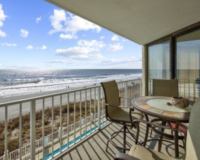Luxurious Oceanfront Condo With Free Water Park, Aquarium, Mini-golf & More Every Day! Oop309 - Garden City Beach