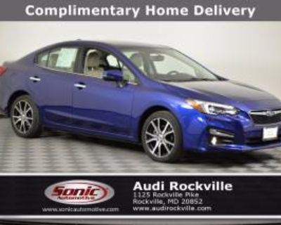 2017 Subaru Impreza 2.0i Limited 4-door CVT