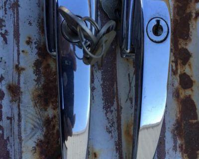NOS Bus drivers door handle with keys 55-60