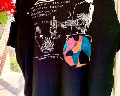 XXL Portuguese Designed  Artesian Designed T-Shirt
