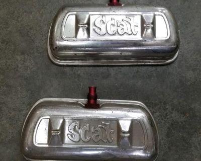 Scat Vintake Aluminum Valve Covers