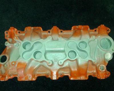 Gm Small Block 2x4 Intake Manifold
