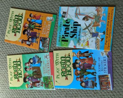 Robin Hood books with streakers, new