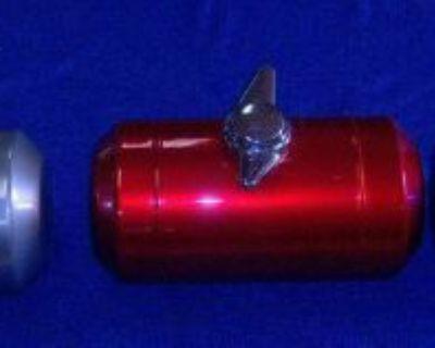 Fuelies Spun Aluminum Custom Gas Tanks 3 Spoke Or 2 Spoke Vented Gas Cap Only