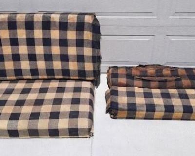 1959 - 1961 Westfalia So23 Camper Mango Seats