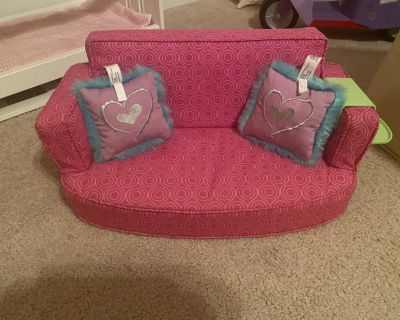 American Girl doll couch