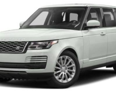2020 Land Rover Range Rover Standard