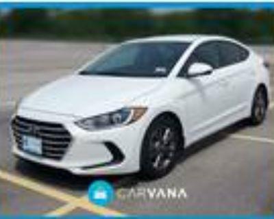 2018 Hyundai Elantra White, 15K miles