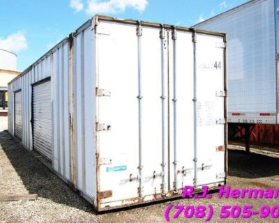 48 ft Storage Container - (2) Overhead Doors