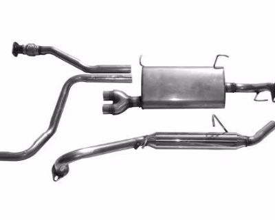 Pathfinder Qx4 01 - 04 Stainless Steel Cat Back Factory Style Quiet Exhaust