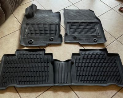Lexus OEM All Weather Floor Mat Set NX300 or 200