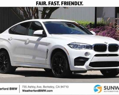 Used 2017 BMW X6 M Sports Activity Coupe