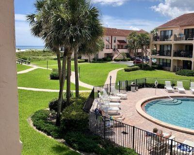 Ocean Villas 136: Ground Floor 3 Bedroom Condo in gated complex - Butler Beach