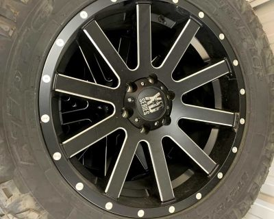 Wheels, Tires, and Lift Kit