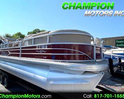 Used 2018 Sun Tracker Party Barge 22 XP3 Tritoon w/Mercury 150hp 4 Stroke