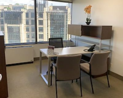 Private Office for 2 at Metro Offices - Chevy Chase