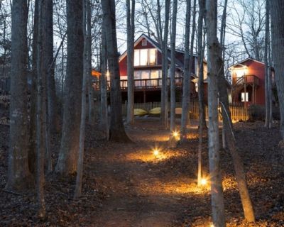 Private Lake Cabin Inside Chestatee Golf and Country Club with Private Dock - Dawsonville