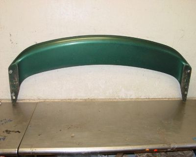 99-04 Ford Mustang Gt Convertible Green Rear Trunk Lid Wing Spoiler 03 02 01 00