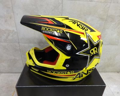 Answer Evolve Rockstar Energy Helmet In Adult Size Large New 2014 Style