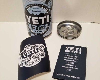 New Yeti Pop Top Stash Can.