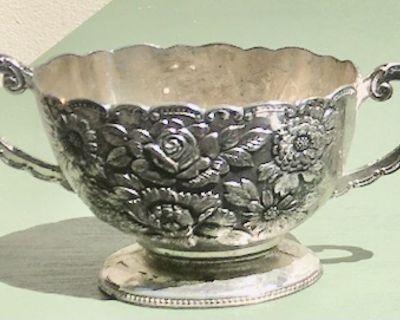 Very Nice Silver-plated Sugar Bowl
