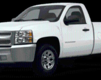 2012 Chevrolet Silverado 1500 WT Regular Cab Long Box 2WD