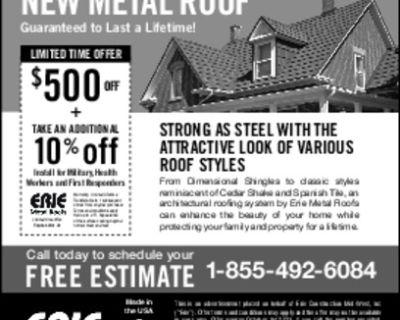 Erie Metal Roof