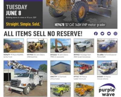 June 8 government auction