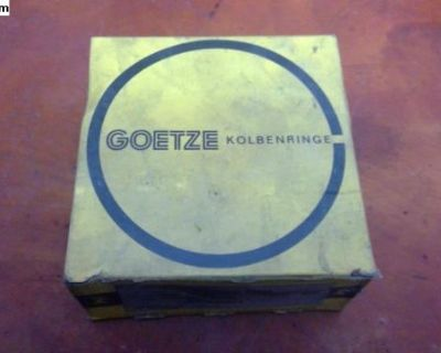 NOS Piston Ring Set Goetze (111 198 163 A) German