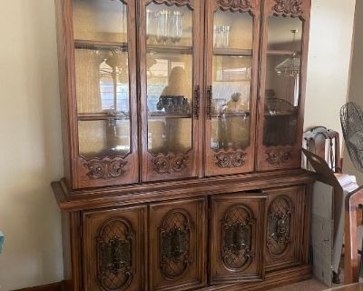 Estate Sale with Solid Wood and Trendy 80s Furniture