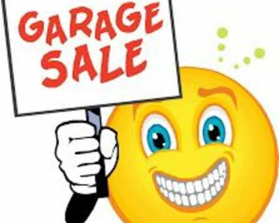 Garage Sale Friday August 6th and Saturday August 7th