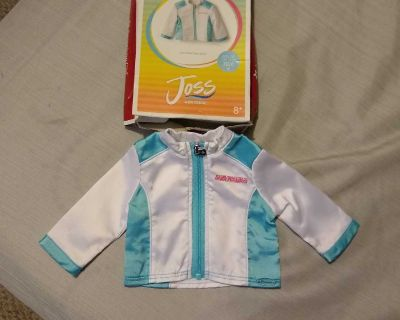 American Girl Doll Joss's jacket and book