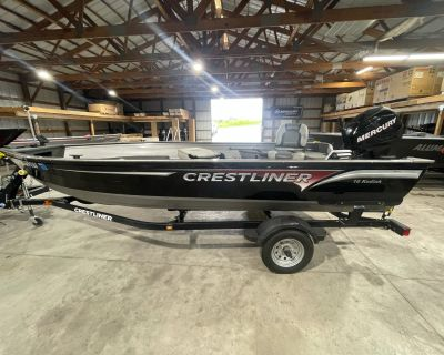2012 Crestliner CKD16T Aluminum Fish Boats Edgerton, WI
