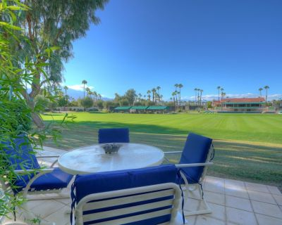 Spacious 2 Bedroom Condo With Views of the Croquette Green and Tennis Courts - Rancho Mirage