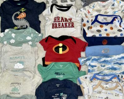 LOT S of Baby Boy Things