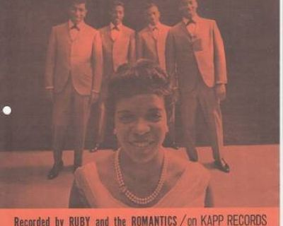 RUBY AND THE ROMANTICS ~ My Summer Love*SHEET MUSIC !