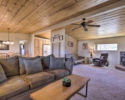 NEW! Rustic Bullhead City Retreat w/ Porch & Views - Golden Valley