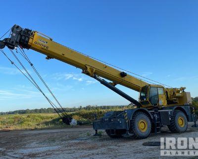 2015 (unverified) Grove RT880E 80 ton 4x4 Rough Terrain Crane