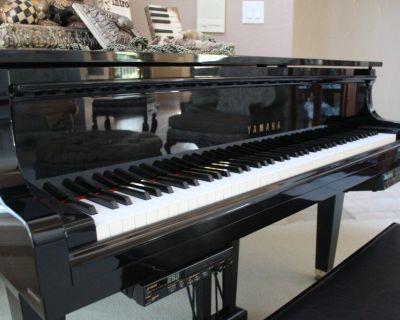 Yamaha Disklavier DGA1 Baby Grand Piano 2001 Ebony Polished