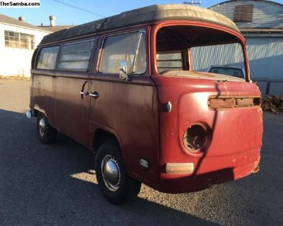 1971 Westfalia pop-top project will part out